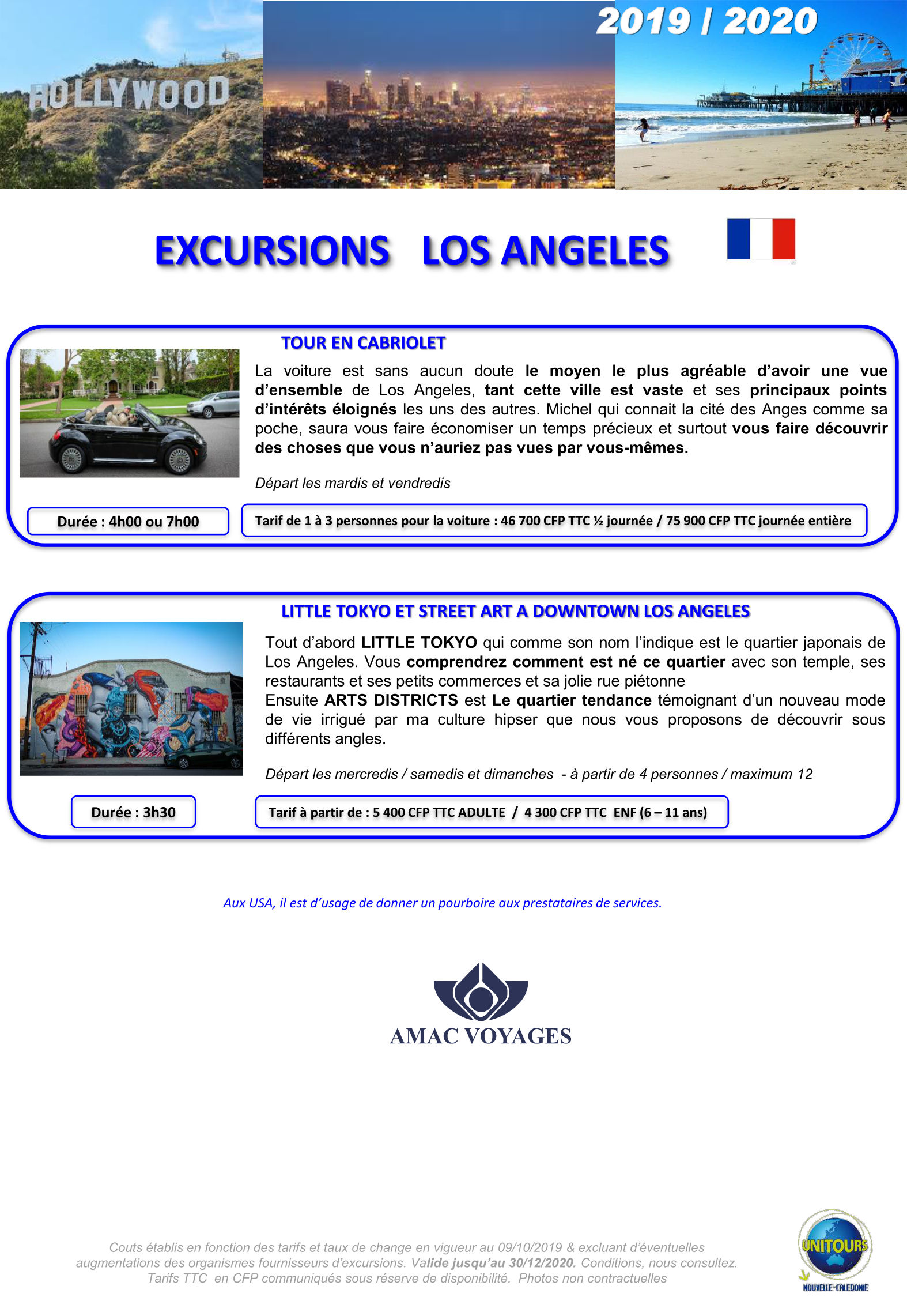 excursions los angeles usa page 2